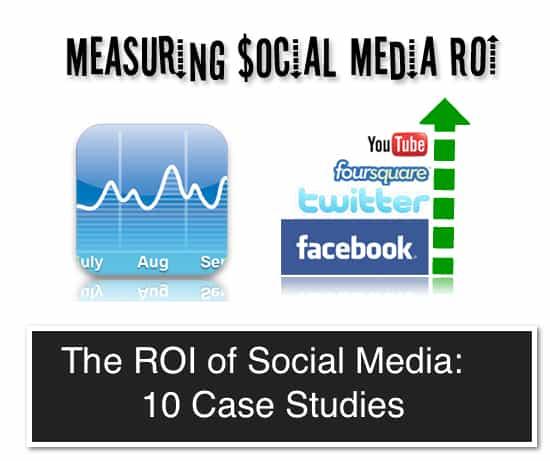 case studies social media roi