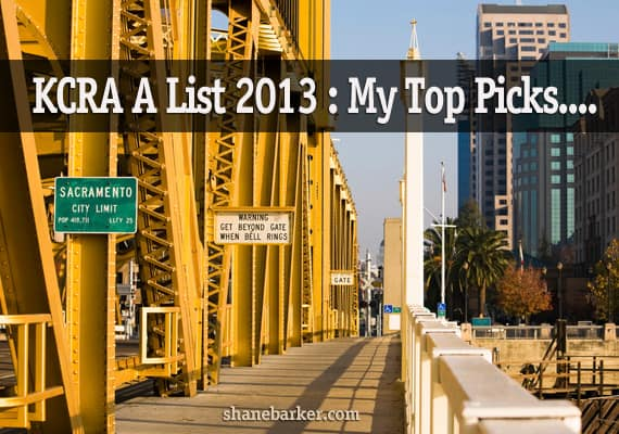 KCRA A list 2013: My 14 Sacramento recommendations