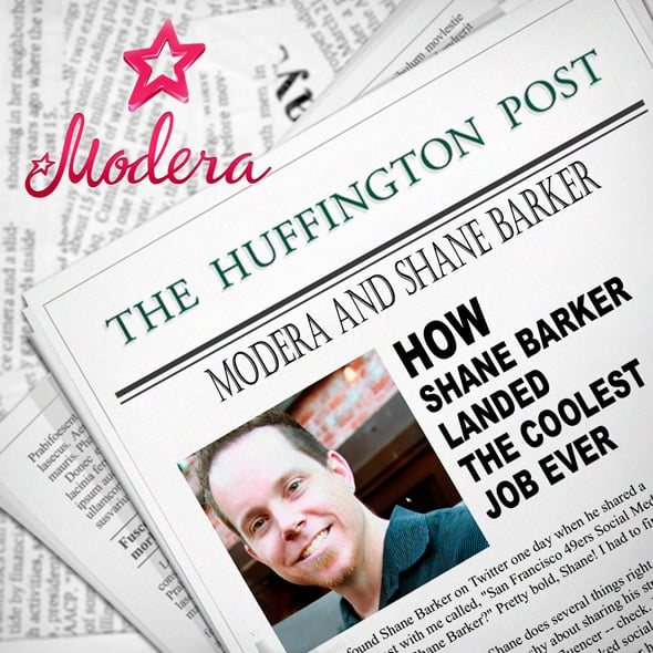 Modera: How Shane Barker Landed the Coolest Job Ever!