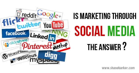 Is Marketing Through Social Media the Answer?
