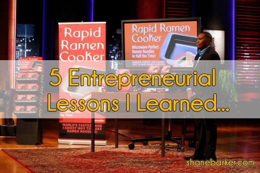 Five Entrepreneur Lessons I Learned from Ramen Cooker on Shark Tank