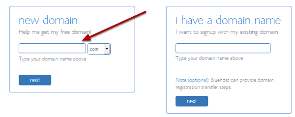 2 signup boxes