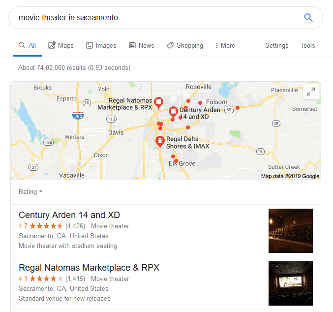 Local Search Result Local SEO Strategies