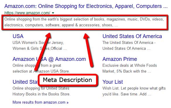 Craft Concise Meta Descriptions On Page SEO Factors