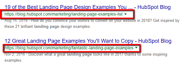 Write Descriptive URLs On Page SEO Factors