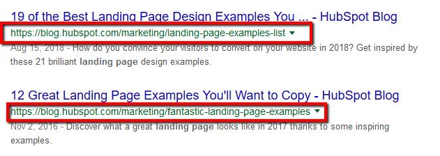 Write Descriptive URLs On Page SEO Factors