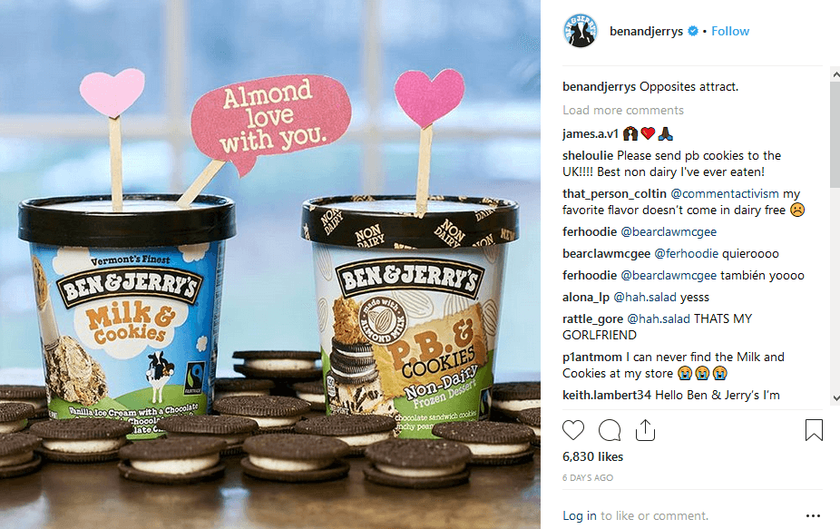 Ben & Jerry's Content Marketing For Small Businesses