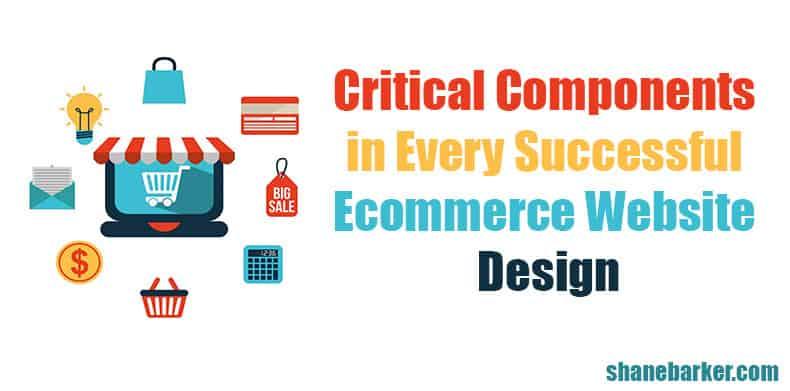create a successful ecommerce website design