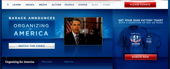Action Principle Obama campaign