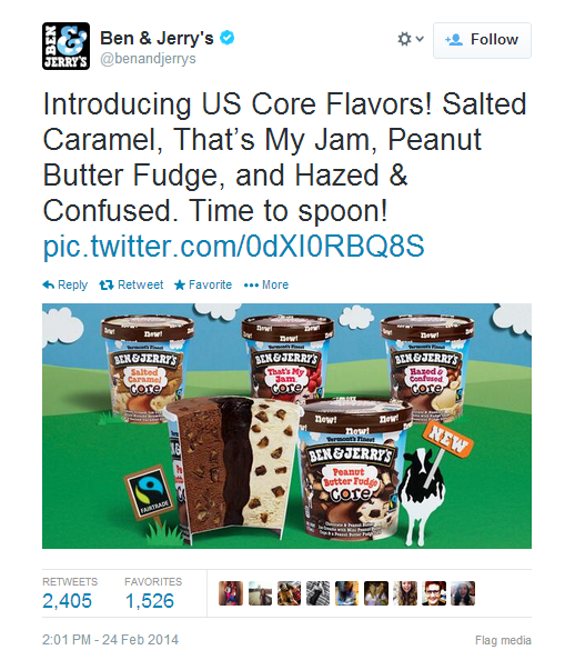 Ben and Jerry's - product launch strategy