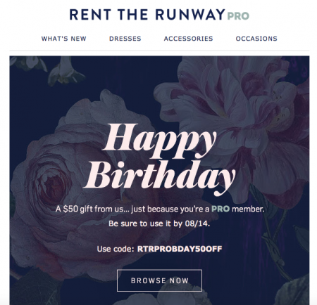Happy birthday- email marketing subject lines