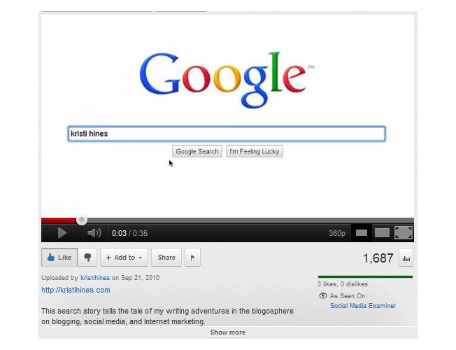 video to build links - Machine Learning seo