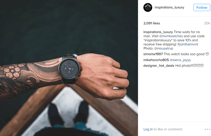 instagram - influencer marketing examples