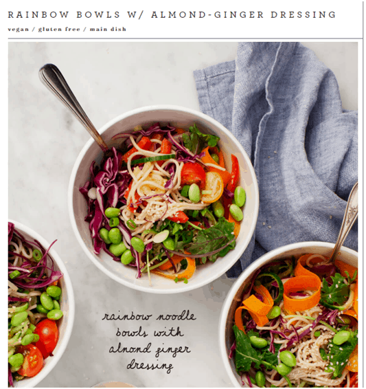 bowls - influencer marketing examples