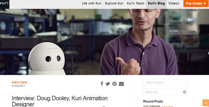 Kuri Blog - start a blog for product launch marketing ideas