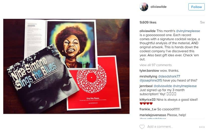 Instagram Olivia Wilde
