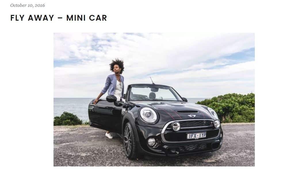 Fly Away - mini car product launch marketing ideas