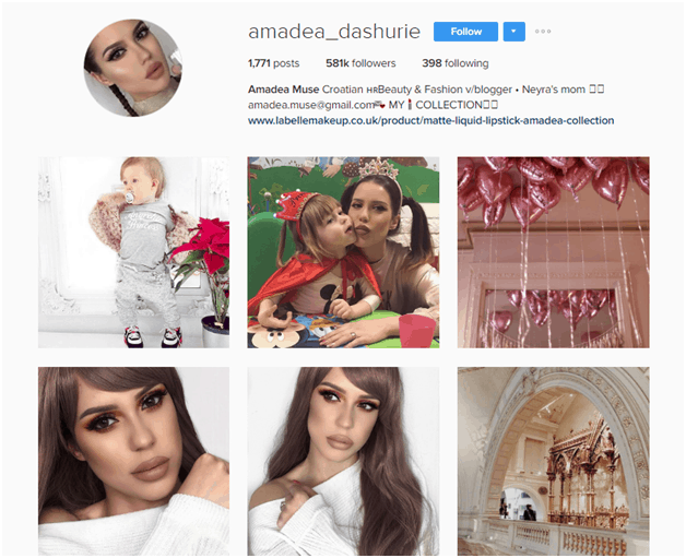 Amandea Dashurie Instagram - Micro Influencer