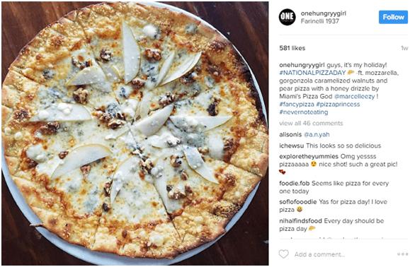 One Hungry Girl Instagram account - Micro vs. Macro Influencer Marketing