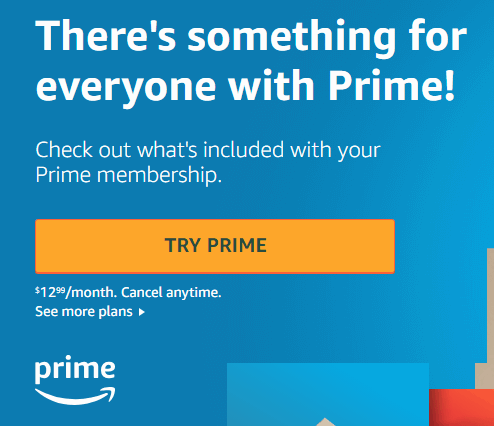 Components of Sales Funnel Amazon Prime