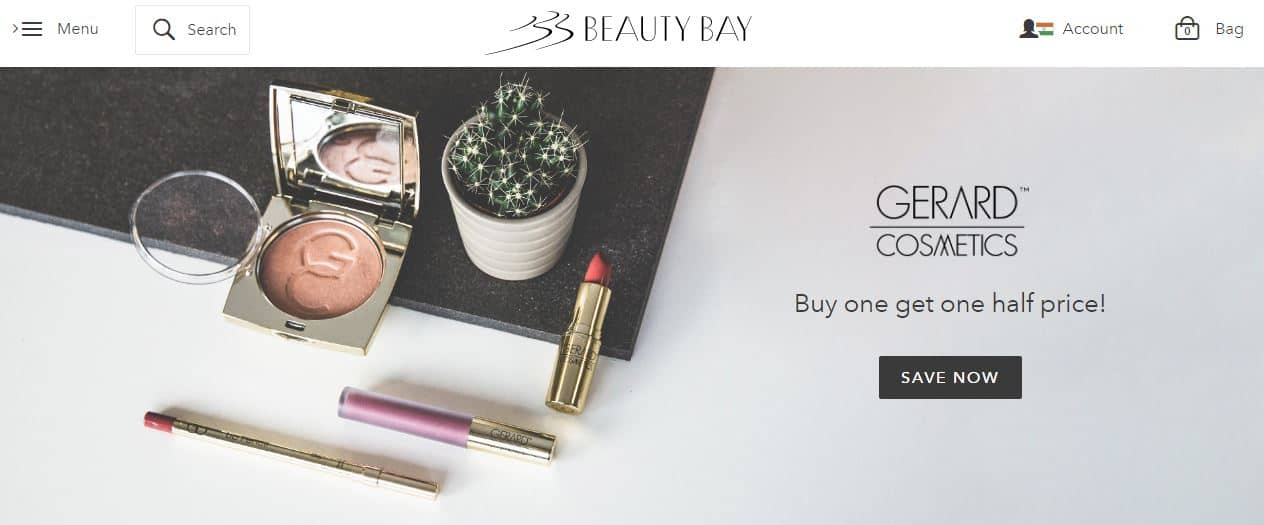 beauty bay - improve conversion rate