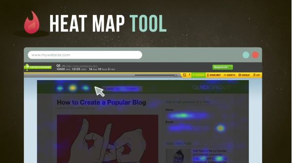 crazy egg heat map tool - improve conversion rate
