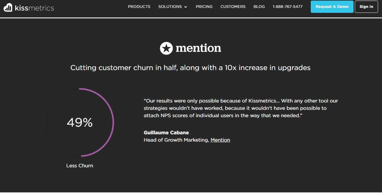 lead conversion kissmetrics testimonials -Components of Sales Funnel
