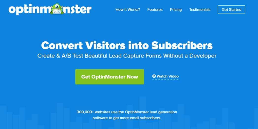 optinmonster - improve conversion rate