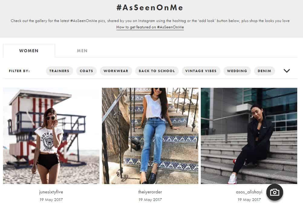 user generated content - ecommerce
