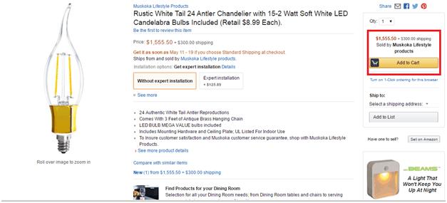 Amazon's Add to Cart - shopping cart abandonment