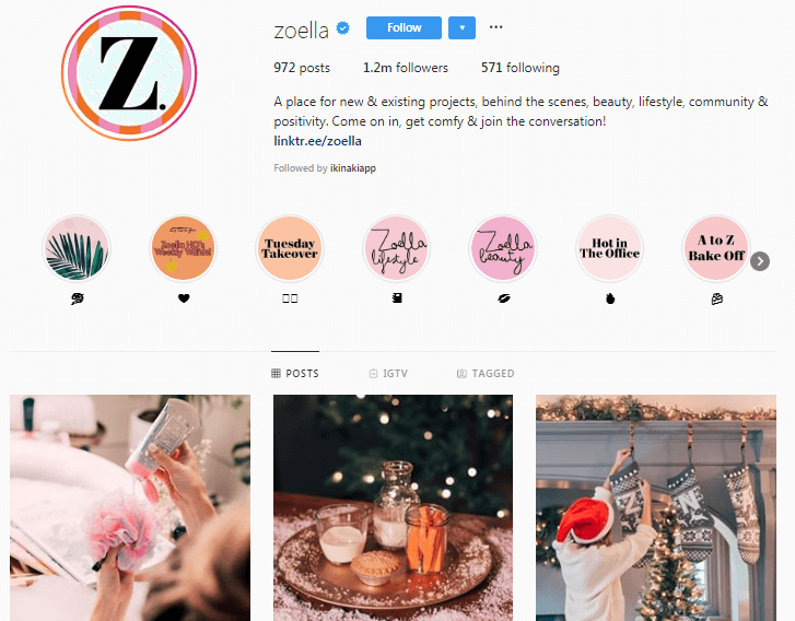 Zoe Sugg Micro-Influencers