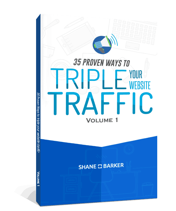 website traffic guide mockup