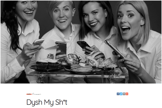 Dysh My Sh*t post successful product launch