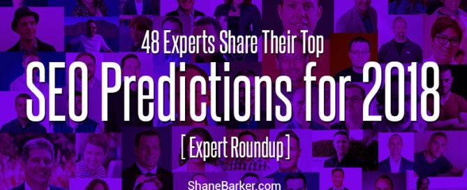 SEO predictions