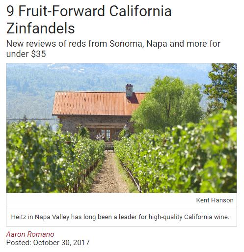 9 Fruit-Forward California Zinfandels - Influencer Marketing Statistics