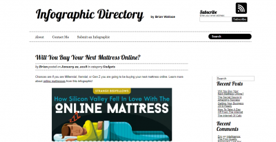 infographic submission websites - infographic directory