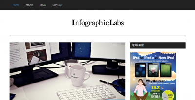 infographic submission websites - Infographic Labs