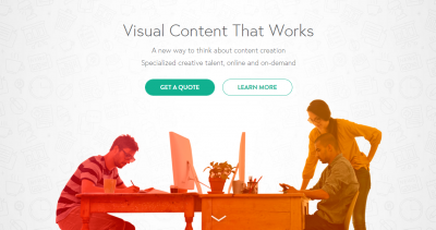infographic submission websites - visually