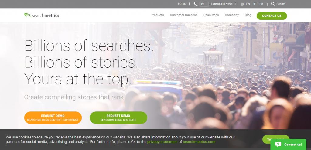 Searchmetrics SEO keyword suggestion tools