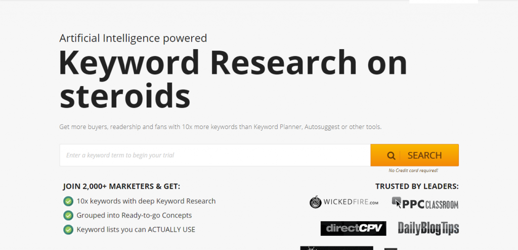 Keyword Country suggestion tools