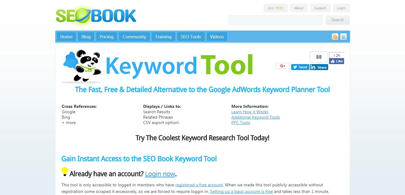 Seo Tools Keyword List Generator