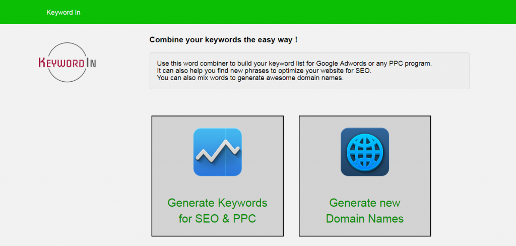 KeyWord In keyword suggestion tools