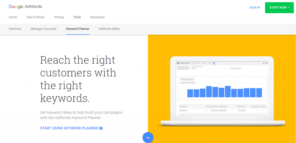 google adwords keyword suggestion tools