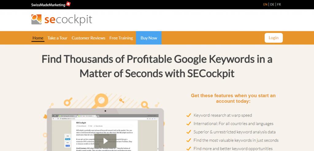 seocockpit keyword suggestion tools