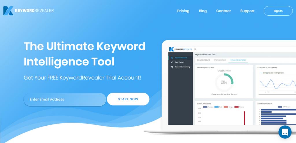 Keyword Revealer suggestion tools