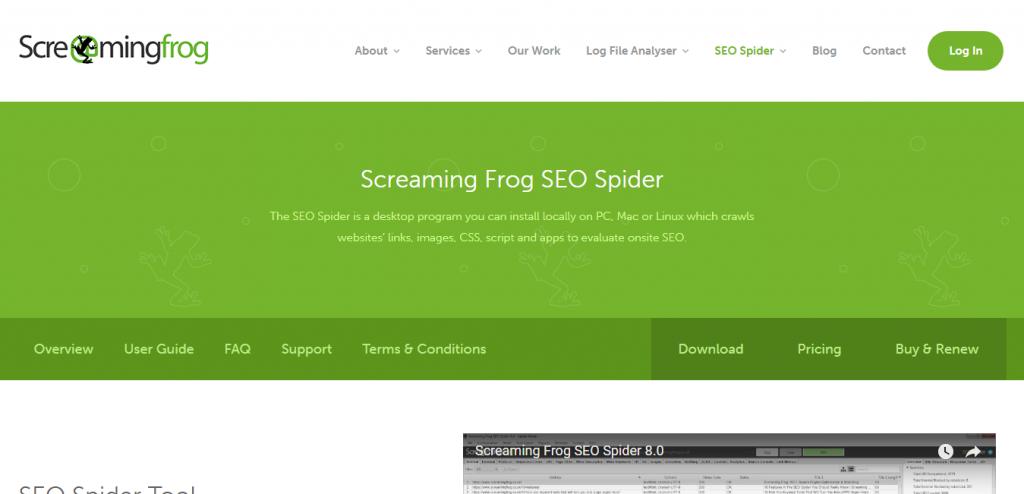 Screaming Frog SEO keyword suggestion tools