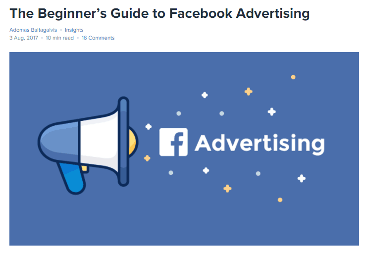 Optimize the Landing Page with the Image Facebook Ad