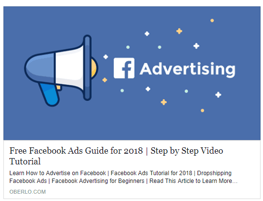 The Beginner's Guide to Facebook Advertising Facebook Ad