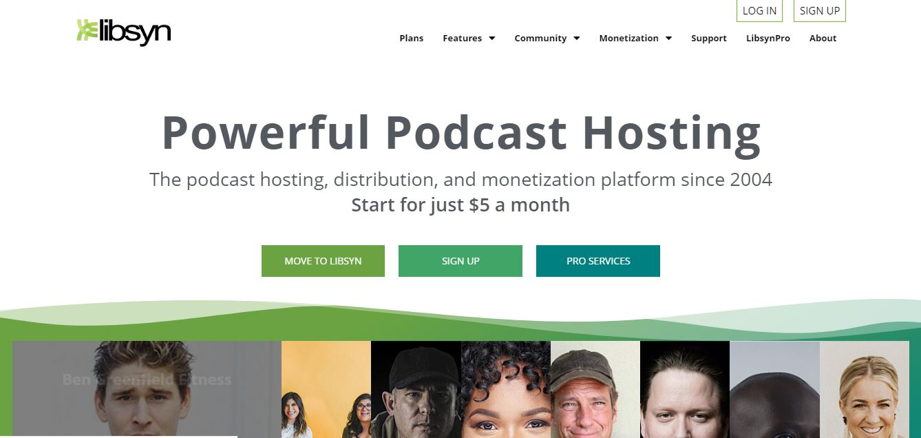 Libsyn podcast hosting sites