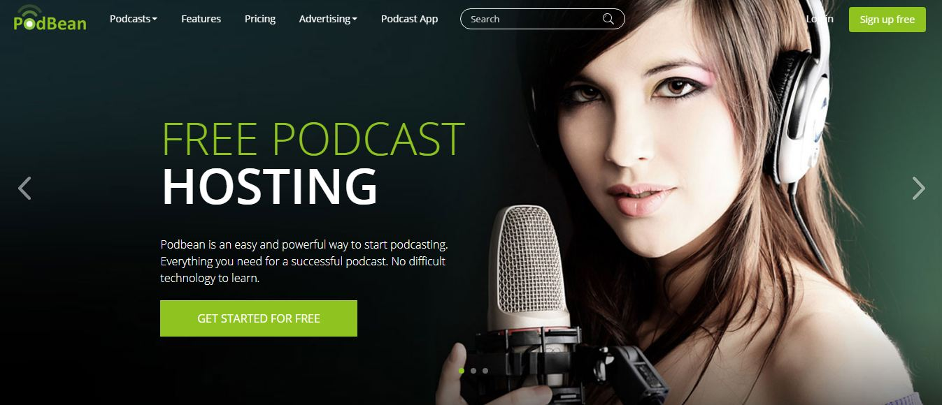 PodBean podcast hosting sites